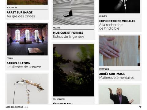 Sommaire SONIC GENERATION - Arts Hebdo Media n°15