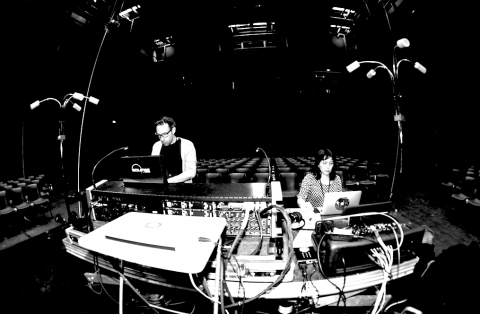 Rehearsal in Salle 400 @ Le 104, Paris